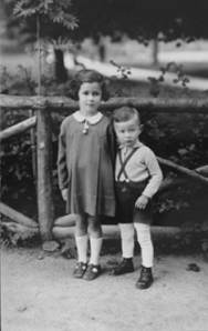 Two of Auschwitz's innocent victims. They did not survive.